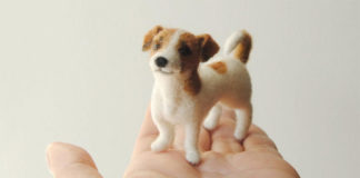 Как продавать на Etsy фигурки собак из шерсти