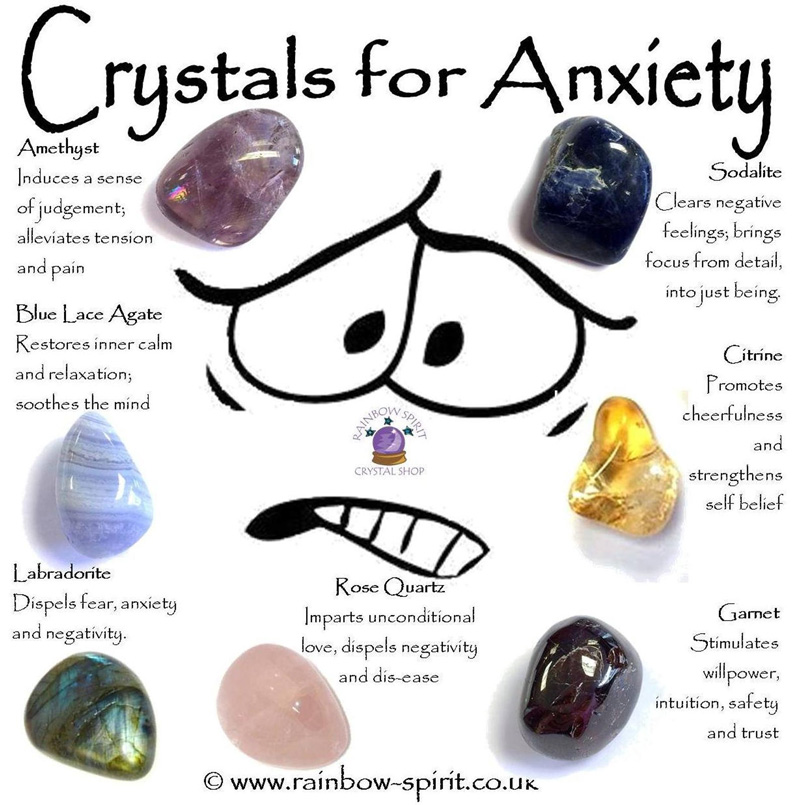 Минеральные камни от беспокойства