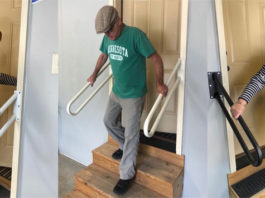 Перила поручни для лестниц