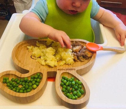 Детская посуда из бамбука
