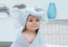 Детские полотенца с капюшоном
