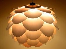 Лампы шишки