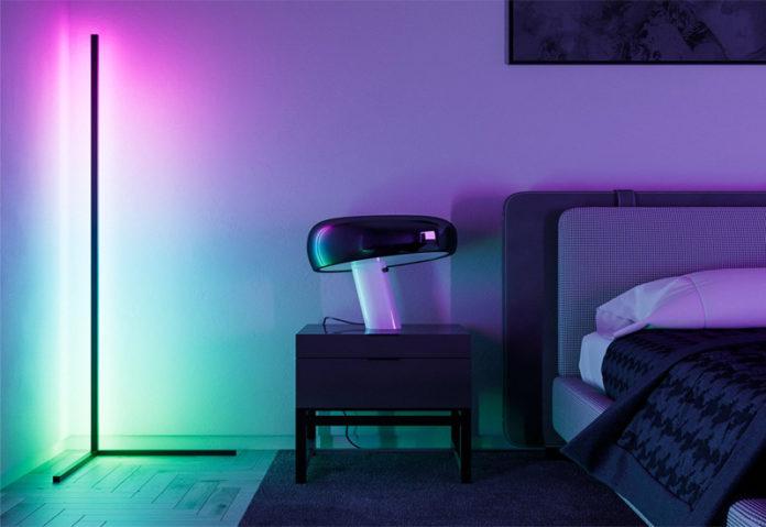 Угловая светодиодная лампа