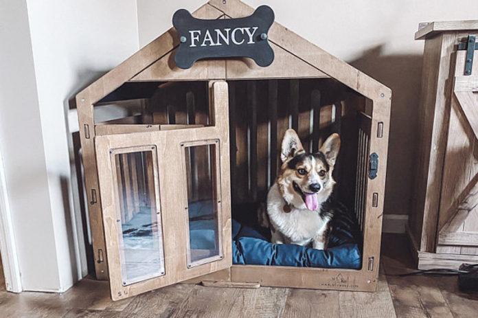 Клетки-домики для собак