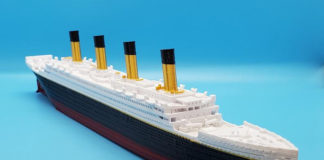 Модель Титаника - наши на Etsy