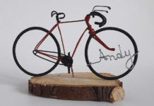 Велосипеды из проволоки